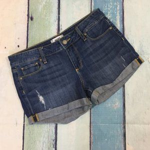 Paige Women's Cuffed Denim Shorts 27
